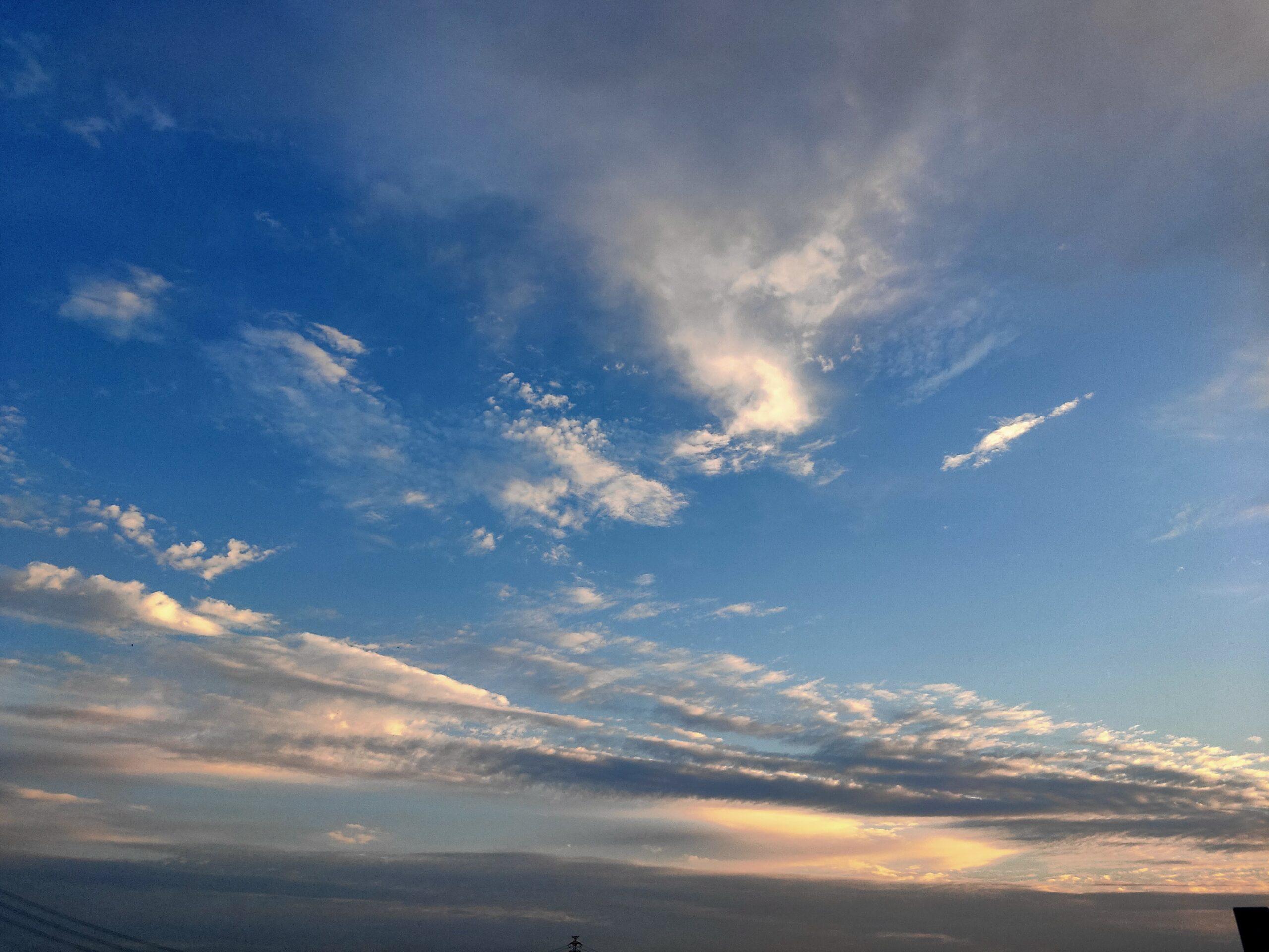 晴れた空の写真
